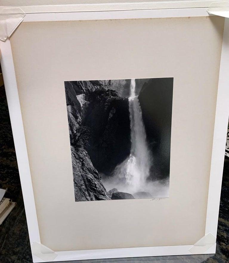 Lower Yosemite Fall - Photograph by Ansel Adams