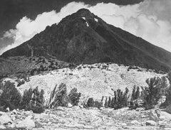 Pinchot Peak in Kings River Sierra, a Photograph by Ansel Adams