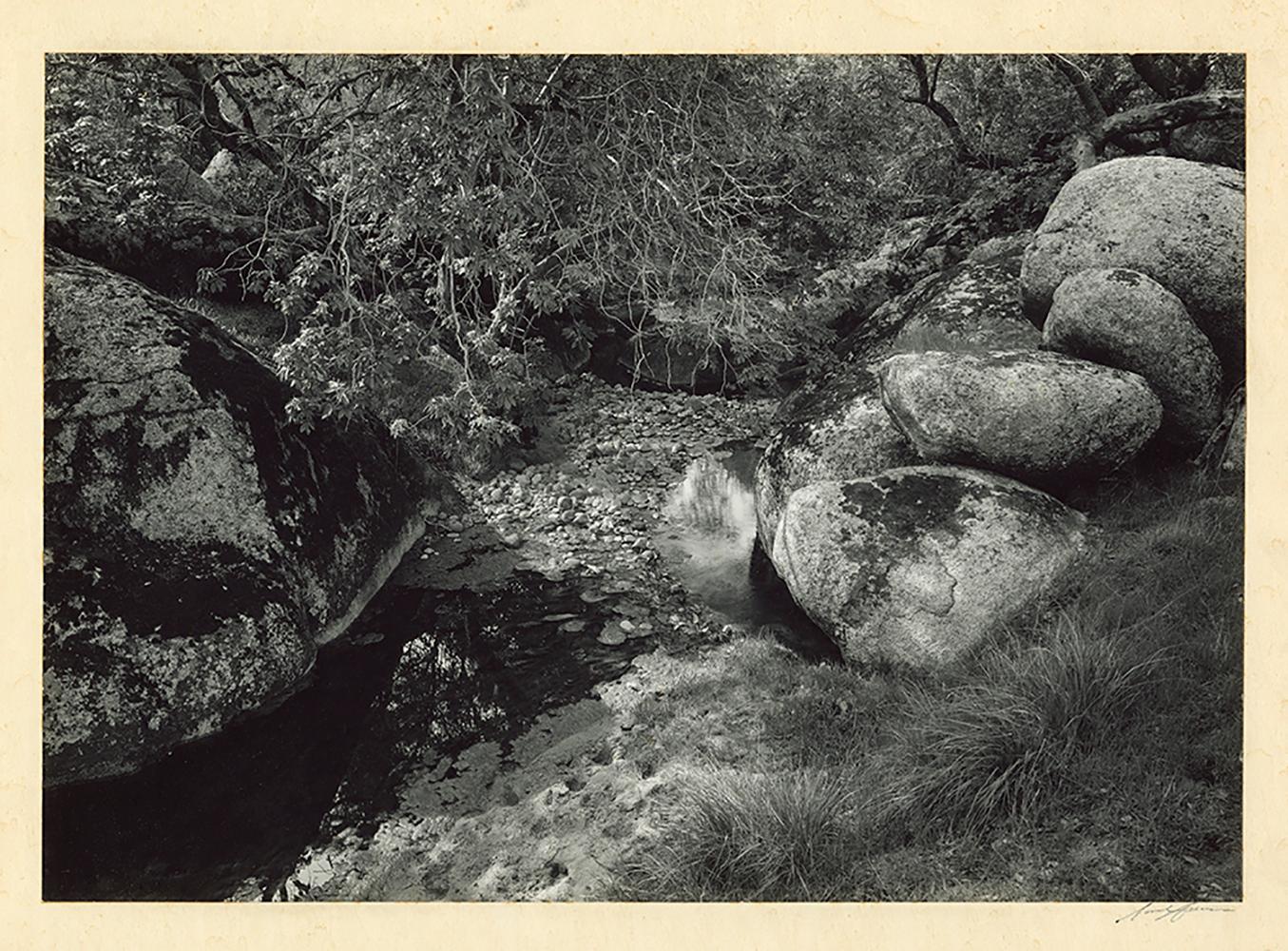 Sunset Hills, CA, (Creek and rocks)