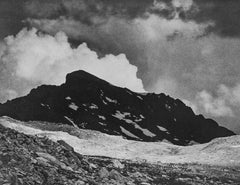 The Black Giant, Muir Pass, a Photograph by Ansel Adams