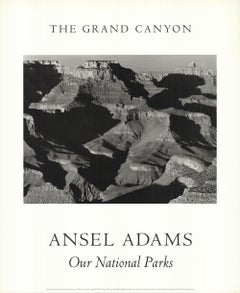 ANSEL ADAMS Cape Royal from the South Rim, Grand Canyon National Park Poster