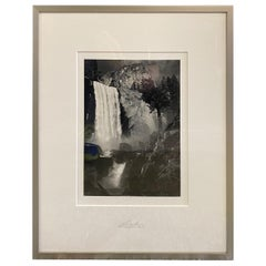 Ansel Adams Special Edition Yosemite Silver Gelatin Photograph Print Vernal Fall