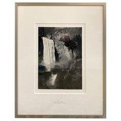 Ansel Adams Special Edition Yosemite Silver Gelatin Photograph Print Vernal Fall