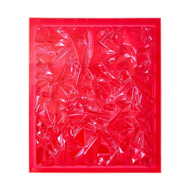 Anselm Reyle 'Untitled', Foil and Acrylic on Canvas Abstract Installation, 2007 For Sale