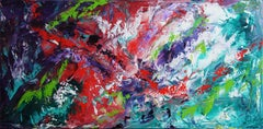 Amazonia, Painting, Acrylic on Canvas