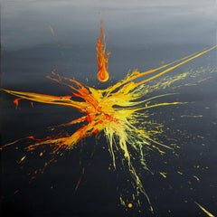 Cause And Effect (Spirits Of Skies 100163), Painting, Acrylic on Canvas