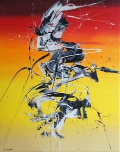 Spirits Rising VIII (Spirits Of Skies 080087), Painting, Acrylic on Canvas