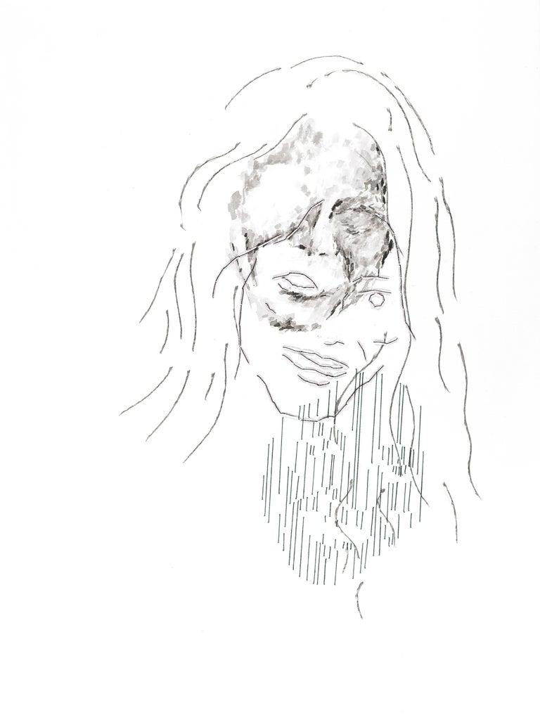 Diana #1#7 - Mixed Media Art by Ant Pearce