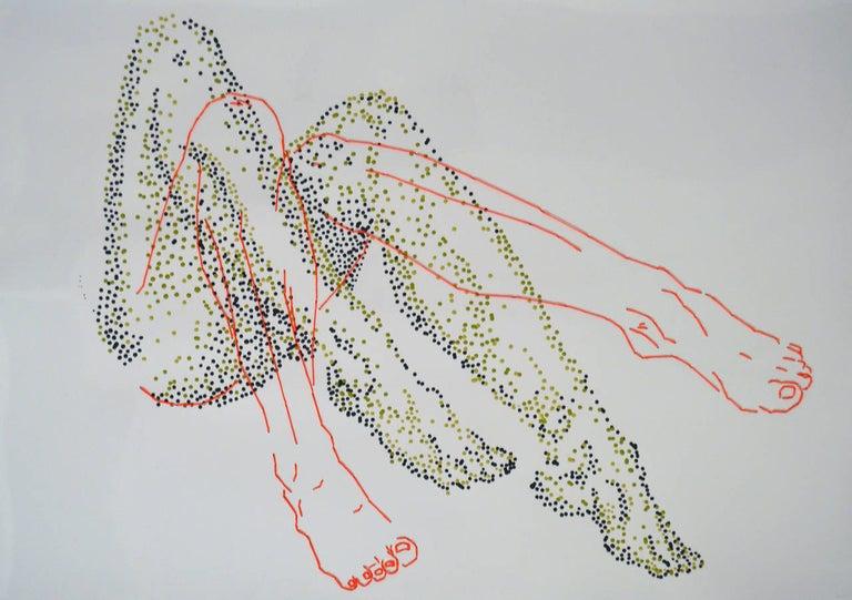 No 1 - Mixed Media Art by Ant Pearce