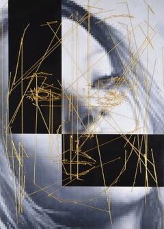 Kate #6 #2e.  Contemporary Mixed Media Art