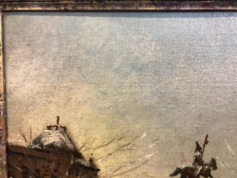 Canvas Antal Berkes '1874-1938' Painting For Sale