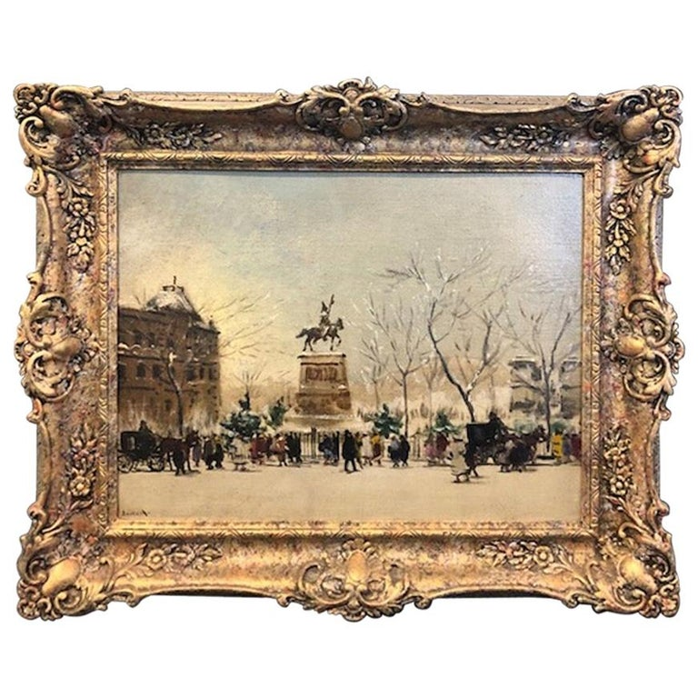 Antal Berkes '1874-1938' Painting For Sale