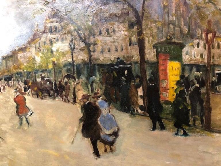 Paris Street Scene For Sale 1
