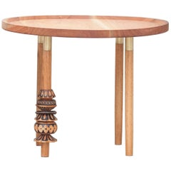 """Antelmo"" Contemporary Side Table II, Handmade"