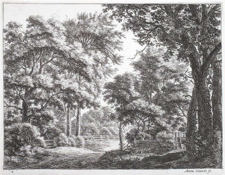 Anthonie Waterloo Landscape Print - The Great Landscapes II, (4th State)