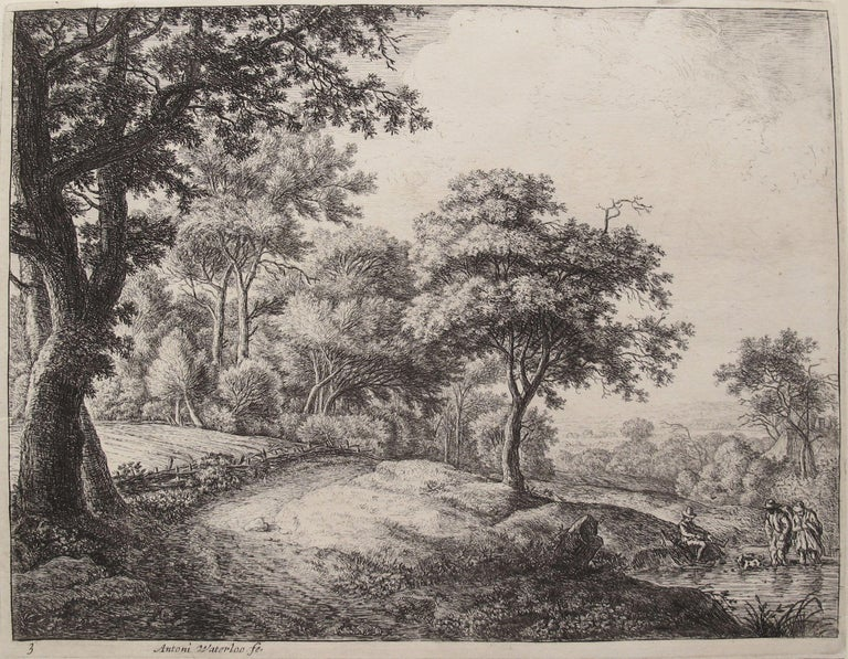Anthonie Waterloo Landscape Print - The Great Landscapes III