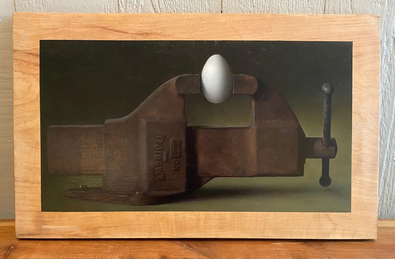 Brinkmanship - Painting by Anthony Ackrill