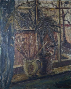 Anthony Byrne - 1959 Oil, Studio Window