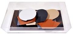 Anthony Caro,  Leaf Pool, card sculpture, 2000