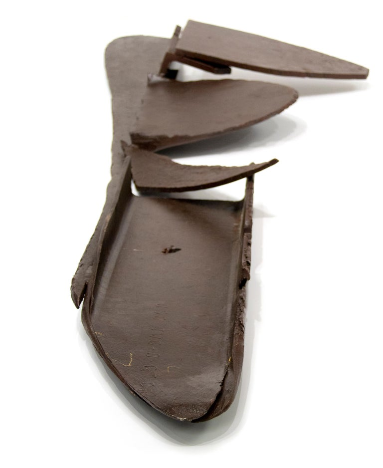 Table Piece CXXXIX #147 - Black Abstract Sculpture by Anthony Caro