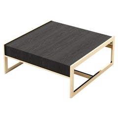 Anthony Coffee Table, Portuguese 21st Century Contemporary in Wood Veneer