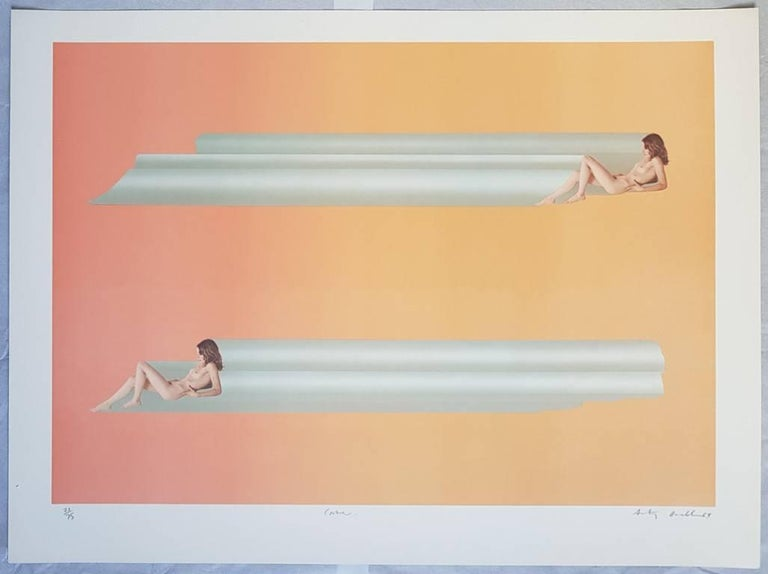 Treasure Tubes - Original Lithographs by Anthony Donaldson - 1969 For Sale 2