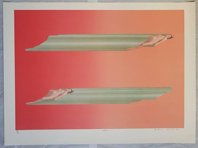 Treasure Tubes - Original Lithographs by Anthony Donaldson - 1969 For Sale 3