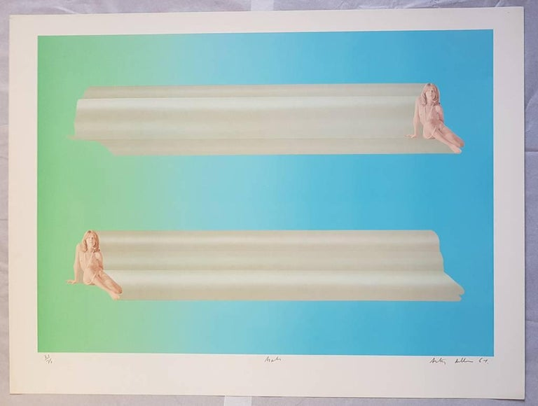 Treasure Tubes - Original Lithographs by Anthony Donaldson - 1969 For Sale 4