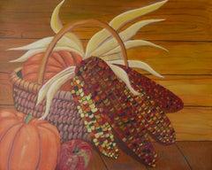 Harvest, Painting, Acrylic on Canvas