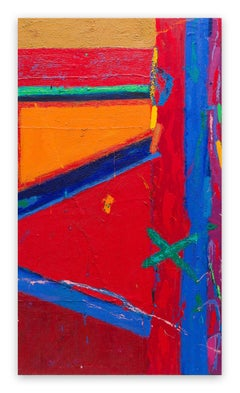 Synthetic Resin Abstract Paintings
