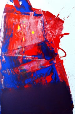 Scrape, Scrape, Scrape From the Tableside of My Heart Painting- Gloss on Canvas