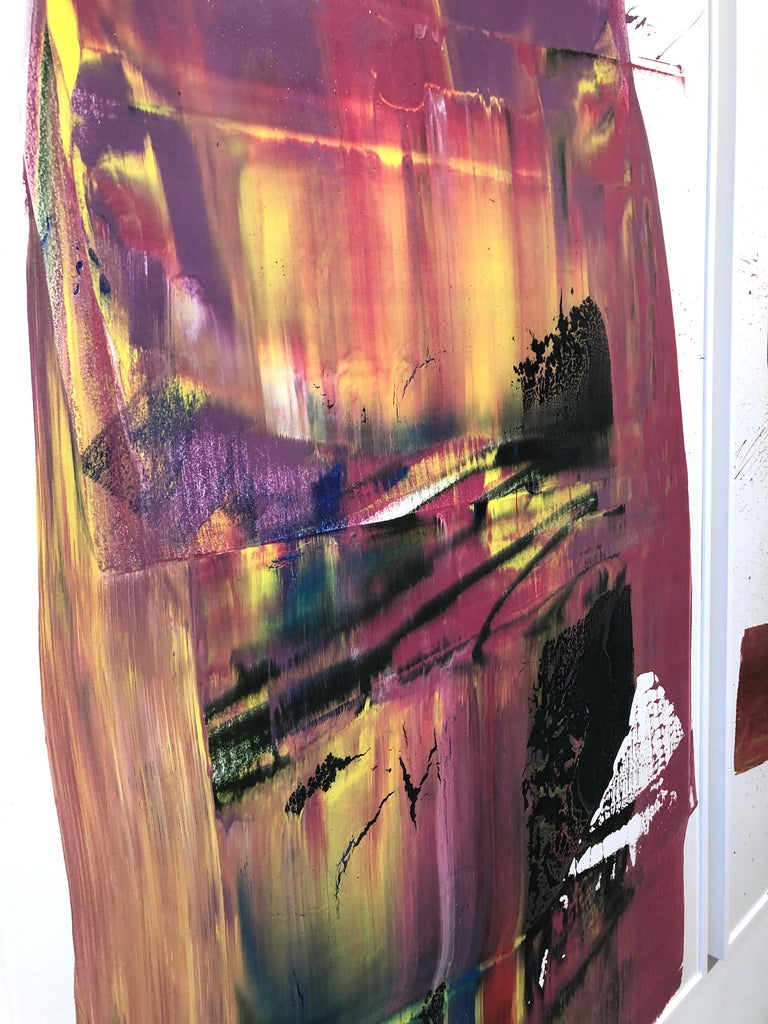 Two Out of Three Ain't Bad Painting (Triptych), Anthony Hunter, Gloss on Canvas For Sale 4