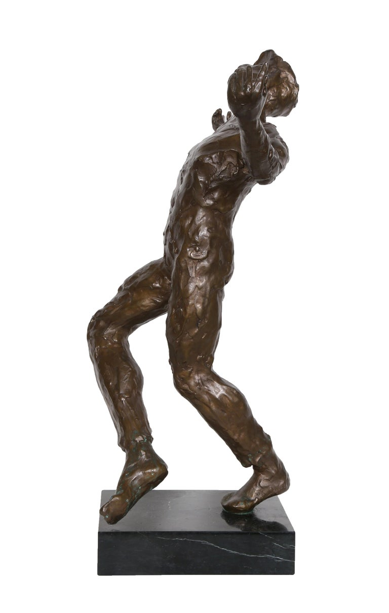 Song of Zorba, Bronze Sculpture by Anthony Quinn For Sale 3