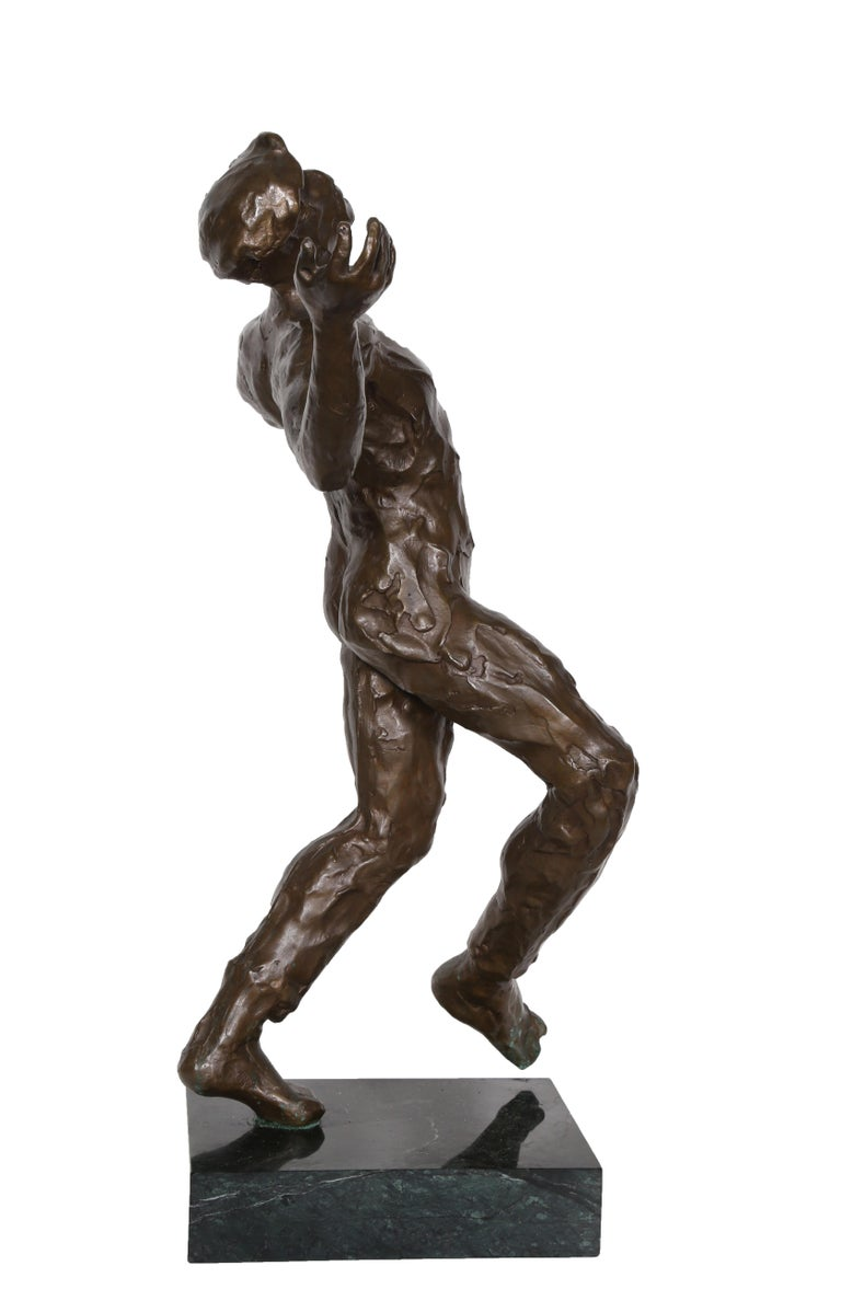 Song of Zorba, Bronze Sculpture by Anthony Quinn For Sale 5