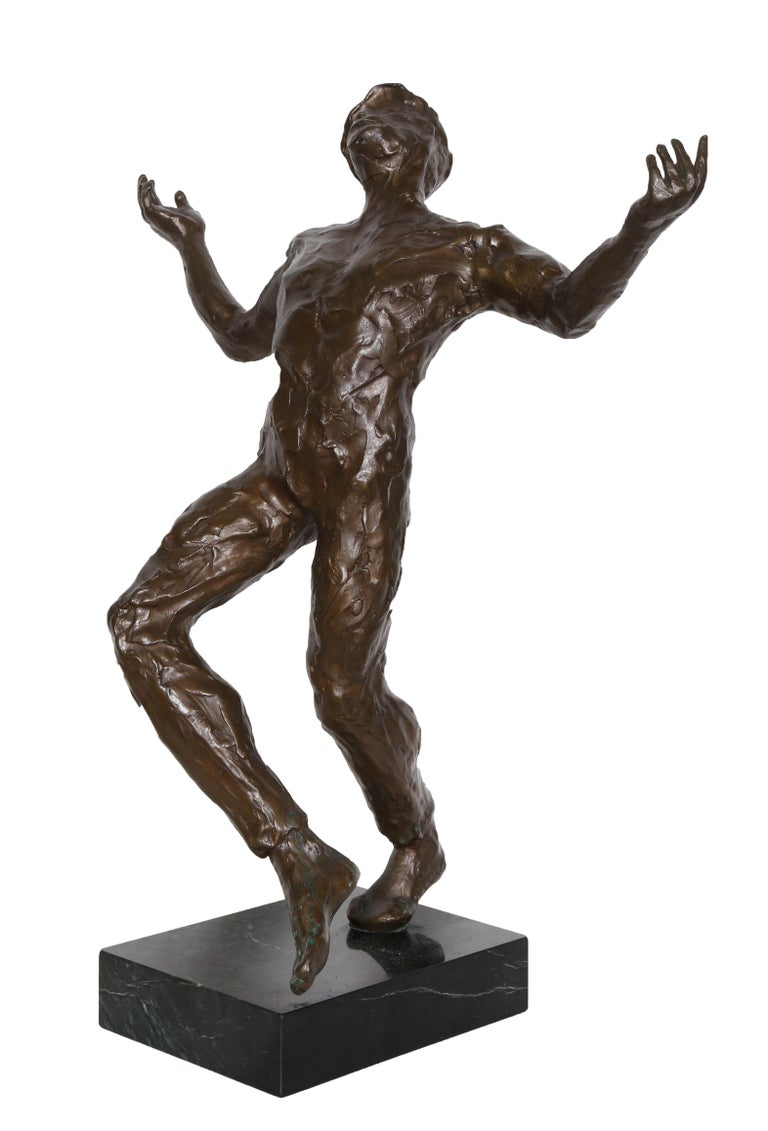 Song of Zorba, Bronze Sculpture by Anthony Quinn For Sale 6
