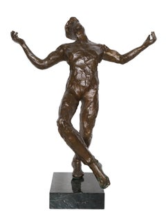 Song of Zorba, Bronze Sculpture by Anthony Quinn