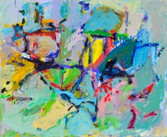 Bright Colorful Abstract Expressionist