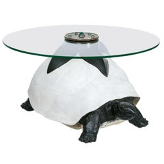 Anthony Redmile, Important Turtle Coffee Table, Signed, England, circa 1970