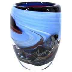 Anthony Stern Modern Art Glass Vase