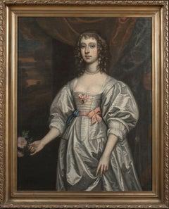 Portrait Of A Lady, Frances Bard (1646-1702) Mistress of The Duke Of Cumberland