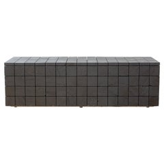Anthracite Coal Bench Contemporary Seating by Jesper Eriksson