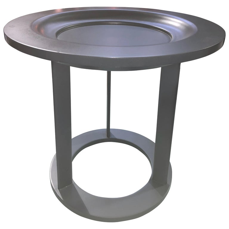 Anthracite Obi Table  For Sale