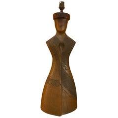 Anthropomorphic Ceramic Table Lamp