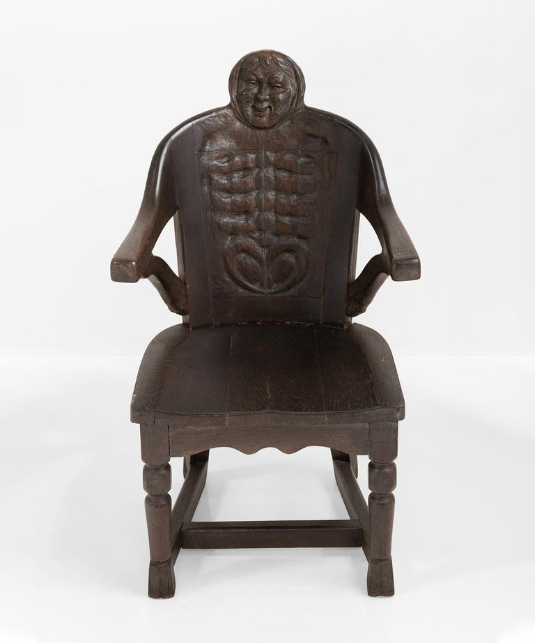 American Anthropomorphism Chairs by J.B. Vansciver Co For Sale