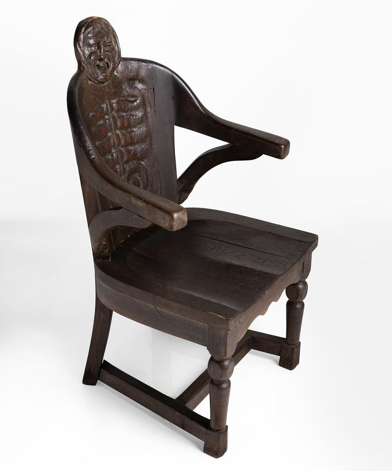 20th Century Anthropomorphism Chairs by J.B. Vansciver Co For Sale