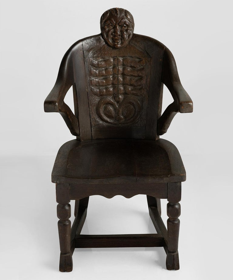 Anthropomorphism Chairs by J.B. Vansciver Co For Sale 3