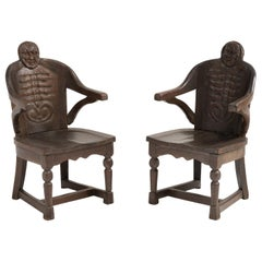Anthropomorphism Chairs by J.B. Vansciver Co