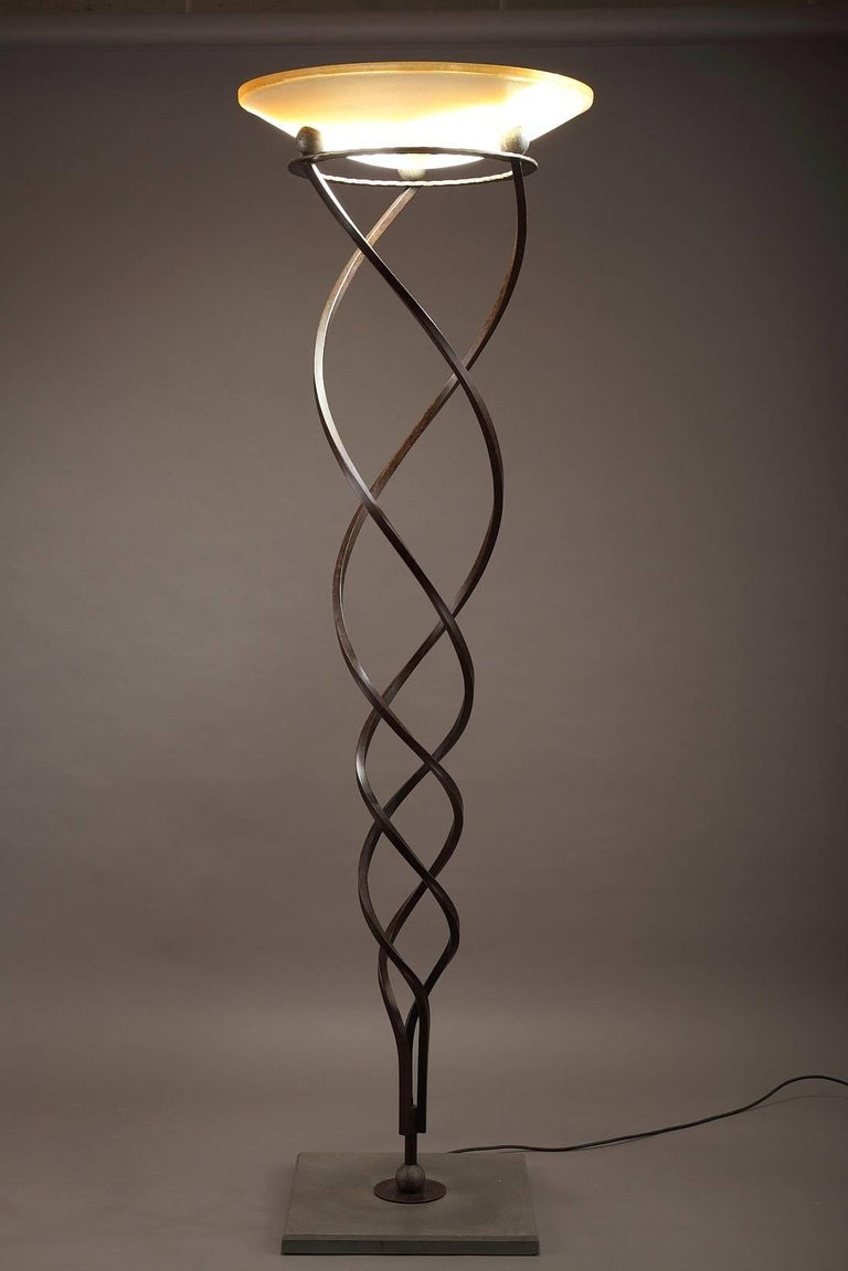 Antinea Terra Floor Lamp by Jean-François Crochet for Terzani In Good Condition For Sale In Paris, FR