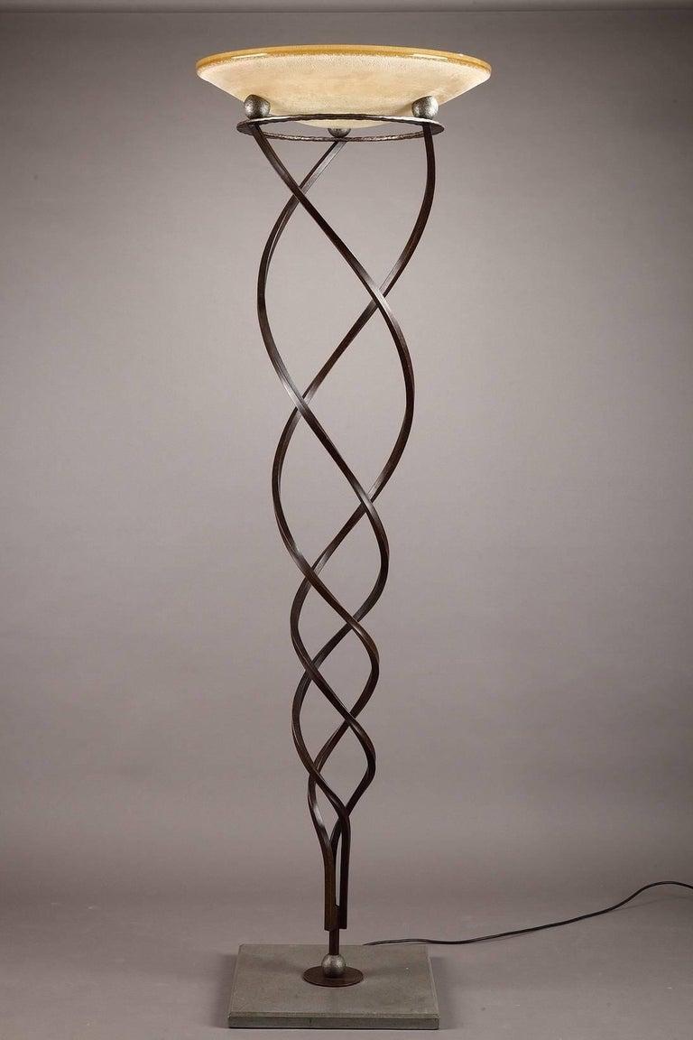 Antinea Terra Floor Lamp by Jean-François Crochet for Terzani For Sale 1