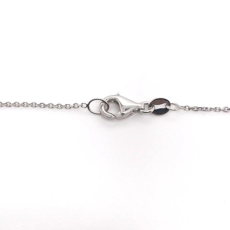 Antique 0.25 Carat Old Mine Cut Diamond Necklace For Sale 2